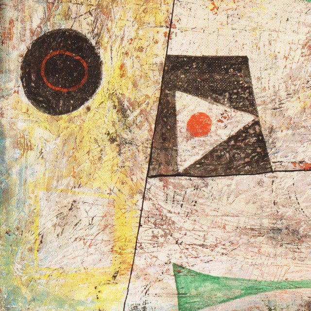 Isami Adachi Geometric Abstract 1950s For Sale - Image 9 of 11