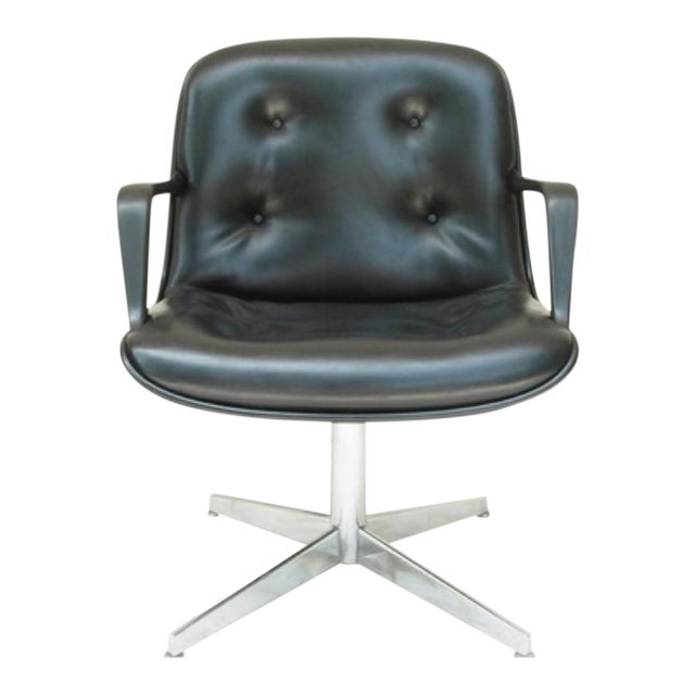Mid-Century Modern Charles Pollock Style Executive Chair by Steelcase - Image 1 of 5