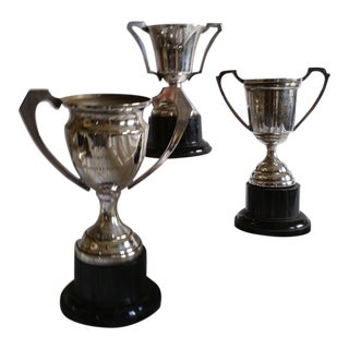 Silver Sport Trophies - Set of 3