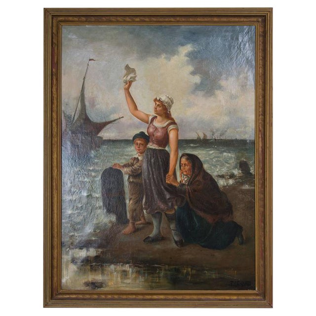 19th Century Oil on Canvas After Fernand Marie Eugene Le Gout-Gerard - Image 1 of 4