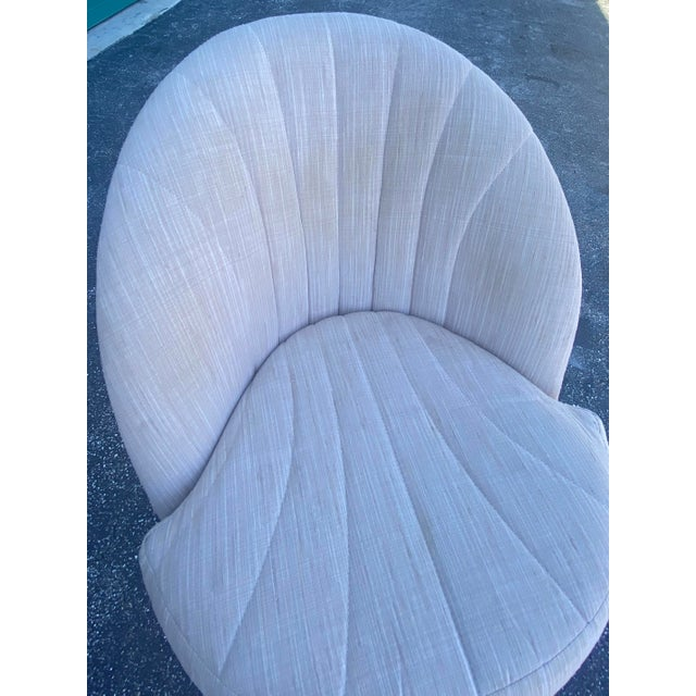 Midcentury Milo Baughman Swivel Chair For Sale In Miami - Image 6 of 10
