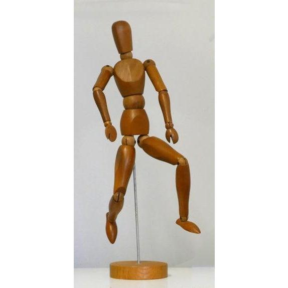 Vintage Wooden Artist Mannequin For Sale - Image 10 of 10