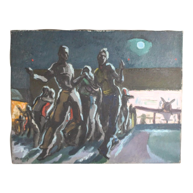 "Buchholz ""Airport Moonlight Dance"" For Sale"