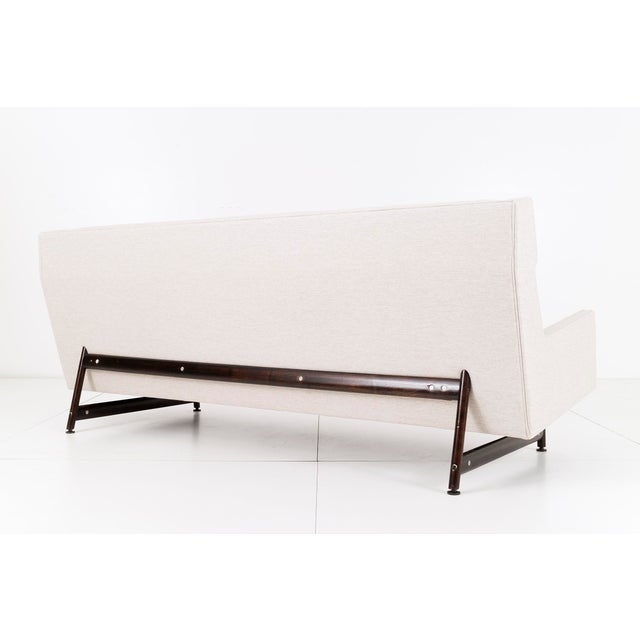 Mid-Century Modern Modern Wing Back Sofa by Kasparian Brothers For Sale - Image 3 of 10