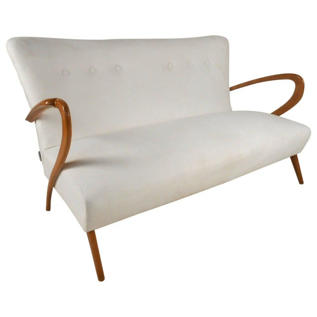 Mid-Century Modern Italian Sofa After Paolo Buffa For Sale - Image 11 of 11