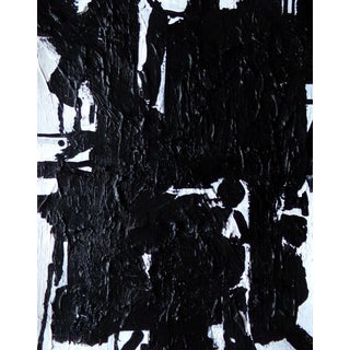 Abstract Painting Original Black and White Art by Brian Elston For Sale