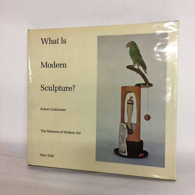 By Robert Goldwater. New York: Museum of Modern Art, 1969. First Edition. 146pp., 117 b+w illustrations, bibliography....