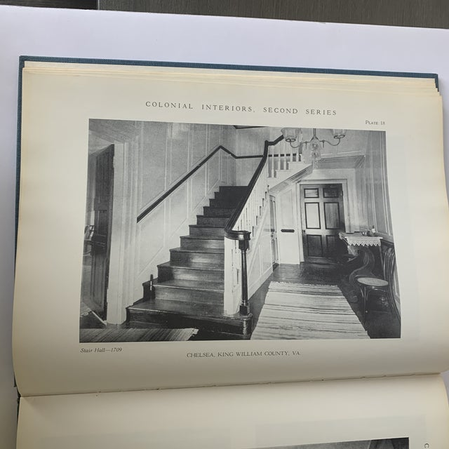 Colonial Interiors Hardcover Book For Sale In New York - Image 6 of 13