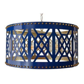 Taylor Burke Home Fretwork Pendant Light For Sale