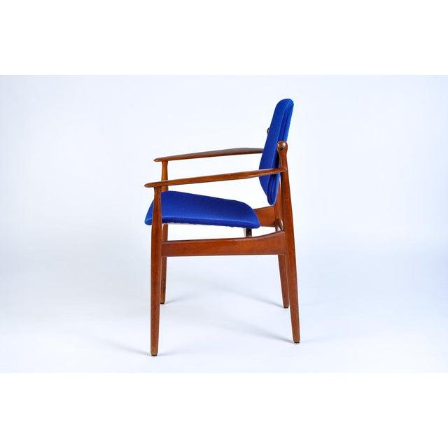 Arne Vodder Danish Modern Arne Vodder Arm Chair For Sale - Image 4 of 7