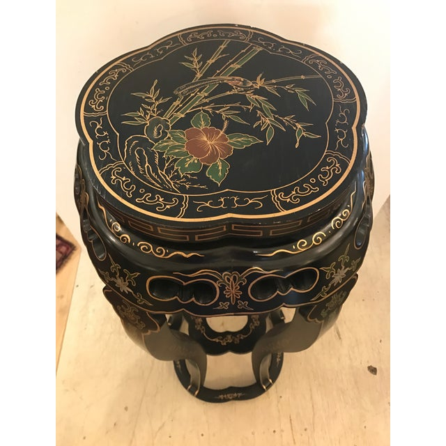 Chinoiserie Style Plant Stand or Pedestal For Sale - Image 5 of 11