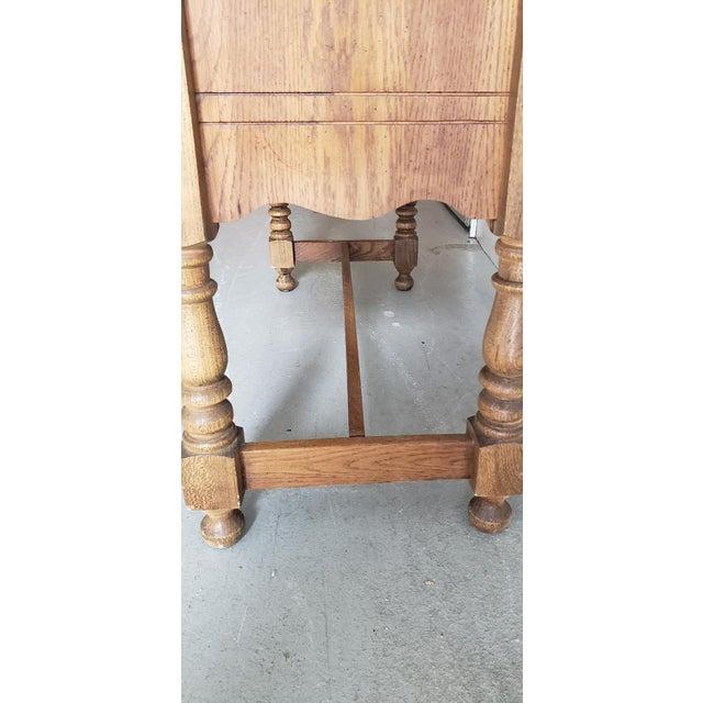 Vintage Telephone Desk For Sale - Image 10 of 12
