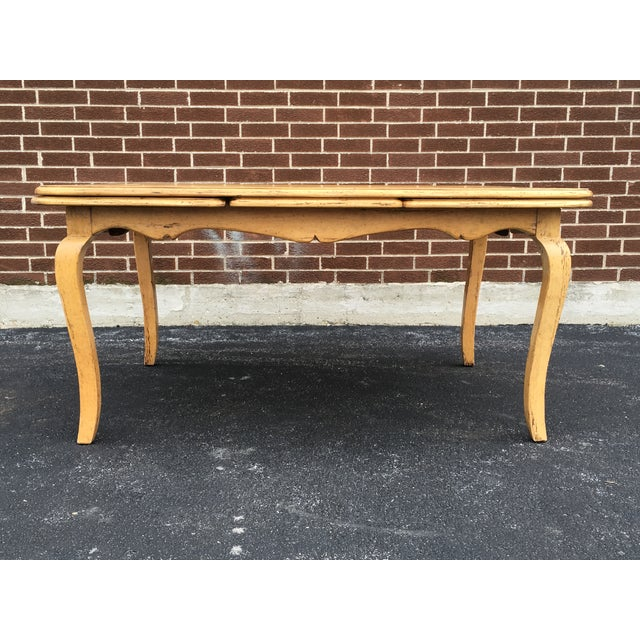 Bausman French Country Dining Set For Sale - Image 5 of 11