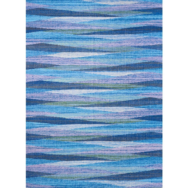 Schumacher Nils Hand-Woven Area Rug, Patterson Flynn Martin For Sale In New York - Image 6 of 6