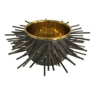 Contemporary Spiky Decorative Bowl For Sale