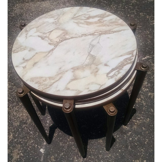 Vintage Mid-Century Nesting Tables - Set of 3 - Image 7 of 8