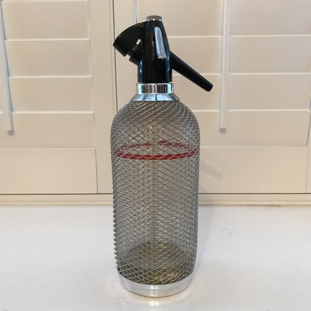 Vintage Reuseable Seltzer Bottle For Sale - Image 11 of 11