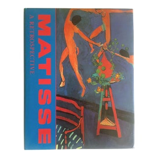 """ Matisse Retrospective "" Rare 1990 Iconic Oversized Volume Collector's Hardcover Art Book For Sale"