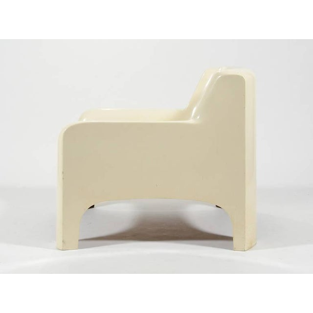 "Carlo Bartoli ""Gaia"" Lounge Chair by Arflex For Sale In Chicago - Image 6 of 9"