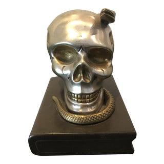 Antique Memento Mori Skull For Sale