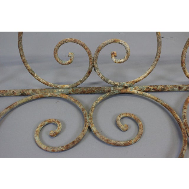 1880 English Iron Garden Swing For Sale In Nashville - Image 6 of 7