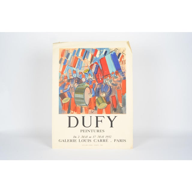 Mourlot & Raoul Dufy 1952 Exhibition Poster - Image 3 of 7