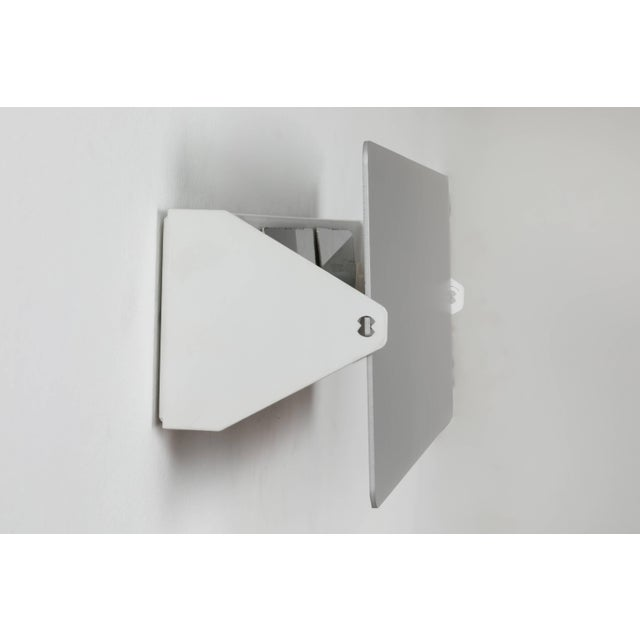 Not Yet Made - Made To Order Charlotte Perriand 'Applique à Volet Pivotant Double' Wall Lights in Aluminum For Sale - Image 5 of 8