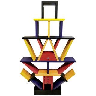 1980s Memphis Style Étagère For Sale