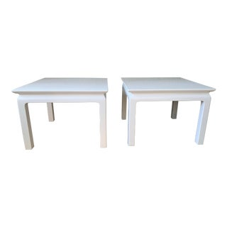 Mid Century Modern Henredon Tables - a Pair For Sale