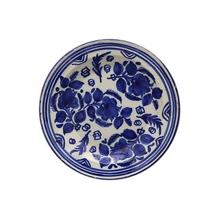 Antique Hand-Painted Delft Charger For Sale