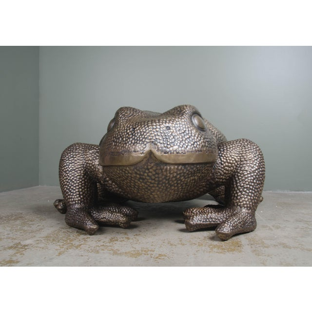 2010s Toad Sculpture For Sale - Image 5 of 6