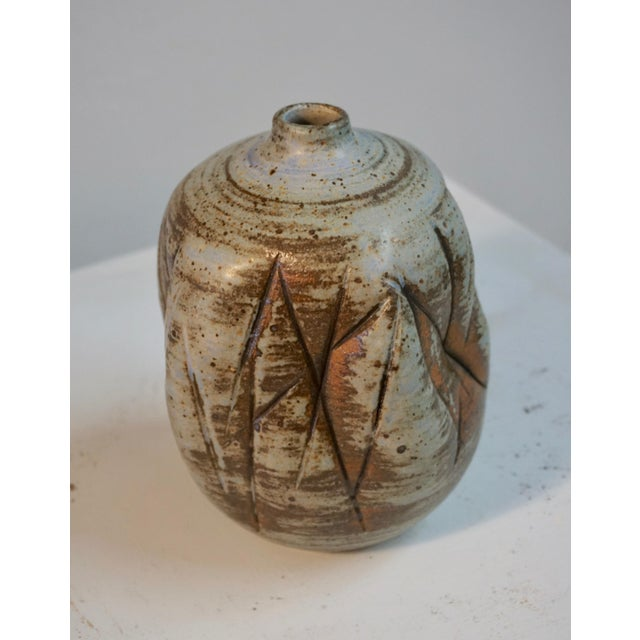 Clay Abstract Ceramic Vessel by Tim Keenum For Sale - Image 7 of 13