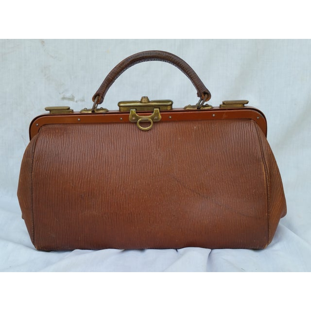 Victorian Leather Gladstone Bag - Image 2 of 7