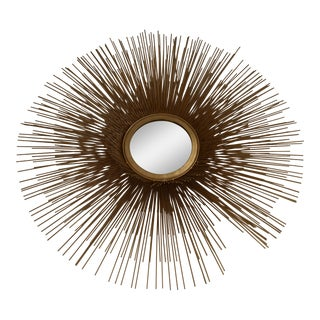 Leona Sunburst Wall Mirror For Sale