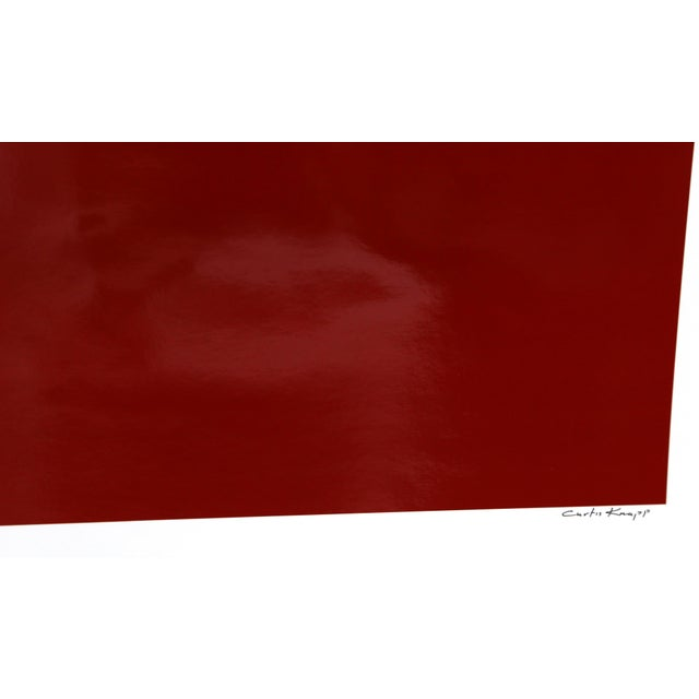 Artist: Curtis Knapp, American Title: Andy Warhol Red Series IV Year: 1983 (printed 2004) Medium: Color Photograph, signed...