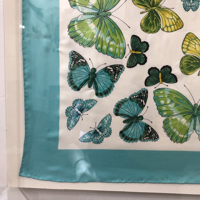 Turquoise Original Tiffany Scarf in Modern Case For Sale - Image 8 of 13