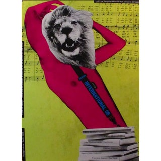 2008 Original Design International Poster - Alfred Halasa For Sale