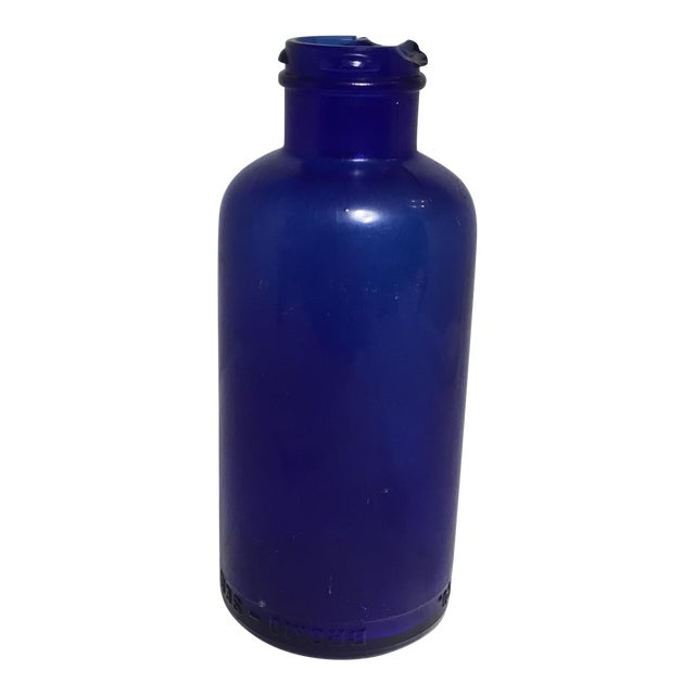 Deep Cobalt Blue Apothecary Bottle For Sale