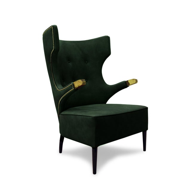 Not Yet Made - Made To Order Sika Armchair From Covet Paris For Sale - Image 5 of 7
