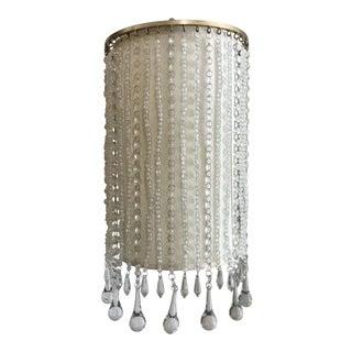 Century Furniture Modern Crystal Sconce For Sale