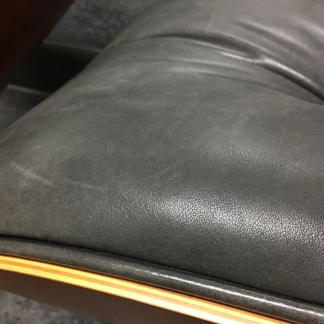Herman Miller Lounge Chair + Ottoman - Image 8 of 10