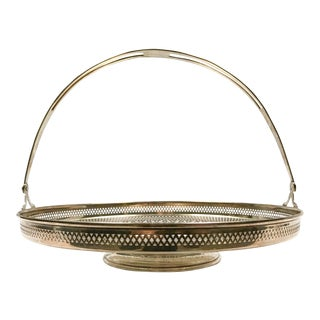 Sterling Silver Serving Basket