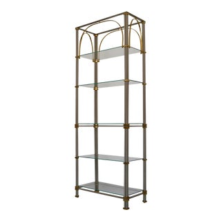 Vintage Italian Hollywood Regency Etagere For Sale