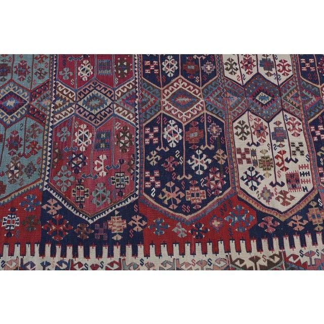 "Antique Turkish Kilim - 5'4"" x 12'6"" - Image 3 of 4"
