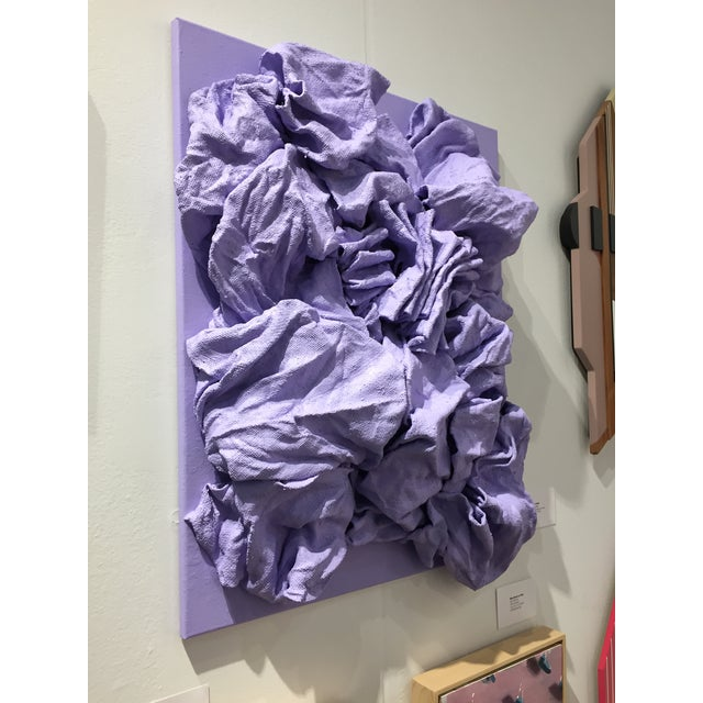 Chloe Hedden Lavender Folds For Sale - Image 4 of 9