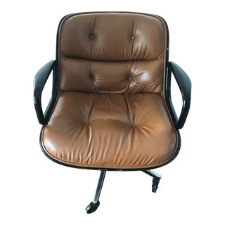 1970s Vintage Charles Pollock Office Chair For Sale