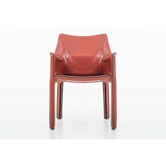 Mid-Century Modern Set of 8 Mario Bellini Dining Chairs For Sale - Image 3 of 11