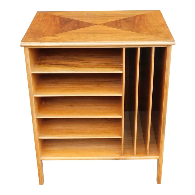 1950s Swedish Mid-Century Modern Open Filing Cabinet For Sale