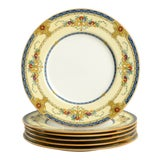 Image of Minton Windsor Blue Luncheon Plate - Set of 6 For Sale