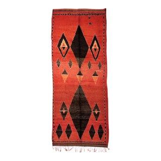 Vintage Moroccan Medouna Rug - 6′2″ × 14′9″ For Sale
